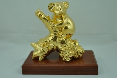 GOLD-PLATED KOALA BEAR
